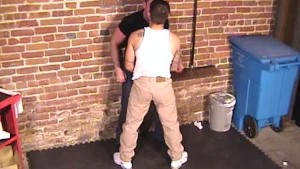 Muscle Hunk Cums All Over Me - Factory Video
