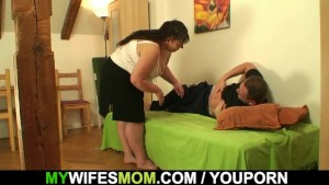 His wife leaves and he bangs fat mother-in-law