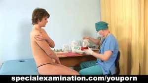 Gyno exam for shy young lady