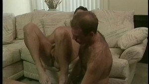 Classic fucking on the couch - Stallion Video