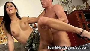 Cock lover Rachel Evans pounde