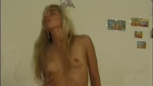 Horny blonde needs a stiff cock - Telsev