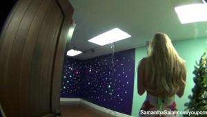 Fun Porn set Behind the Scenes with Wicked girls - samantha saint