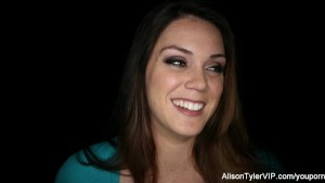 Sexy big boobed babe Alison Tyler