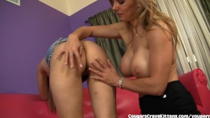 Cute Teen Seduced By Wild Hot MILF