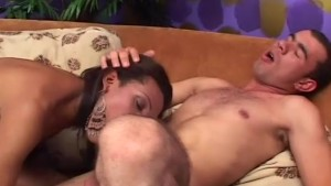 T girl with BBC fucking latino - Pandemonium