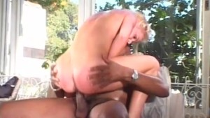 Blonde cheers her friend on - Pandemonium