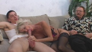 Mature Loves Hubby And Young Stud