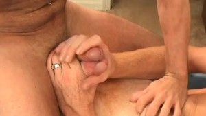 Two rednecks jerking off together - Factory Video
