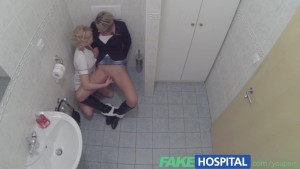 FakeHospital Lucky sexy patient is seduced by nurse and doctor