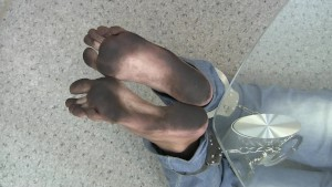 Bastinado Dirty Feet