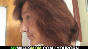 Oldie fucks her daughter s man