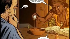 2D Comic: Spellbinder. Episode 1
