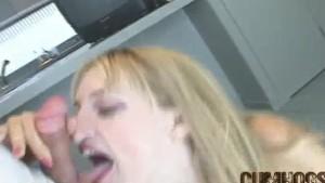 CumHogs - Heather Facial Cum