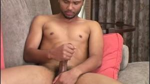 Black Straight Guy King Masturbating