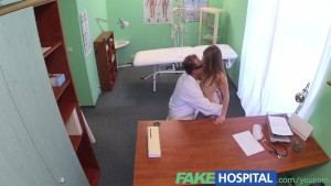 FakeHospital Sexy short Russian patient has no money but pays with a very wet tight pussy