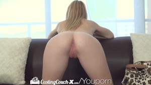 HD - CastingCouch-X 18 years old gets her Halloween costume on for her audition