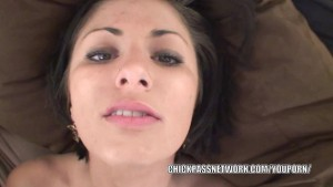 Brunette coed Charli Baker does some hot POV fucking