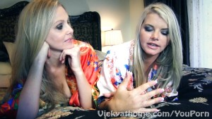 Superstar MILFS Vicky Vette & Julia Ann s First EVER Video?!