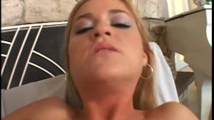 Cum-Swallowing Blonde - Acid Rain