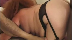 Mature Fat Redhead In Sexy Lin