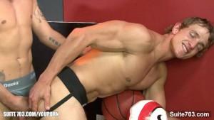 Sweet gay jocks having wild sex