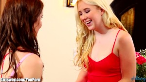 Girlsway Samantha Rone Tribbing: Girl Of the Month
