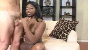 Ebony Teen Handjob Surprise