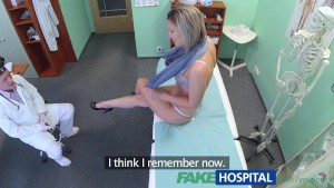 FakeHosital Stunning blonde wants doctor to prescribe his cock