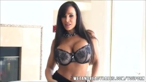 Lisa Ann in sexy lingeries