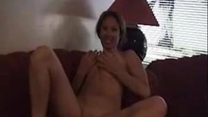 Busty amateur Lilli masturbates on her first audition