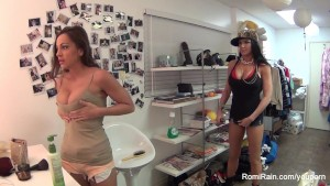 Abigail Mac & Romi Rain Behind the Scenes