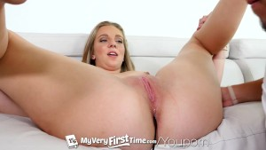 MyVeryFirstTime - First anal experience makes Tiffany Dawson scream