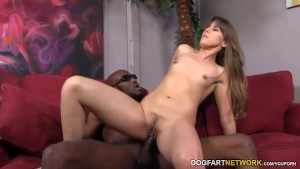 Amber Chase Gets Her Ass Stretched By A Black Cock