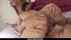 Nozomi Hazuki big tits beauty loves hardcore threesome