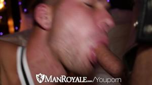Halloween Porn! Dimitri Kane Fucked by Derek Parker