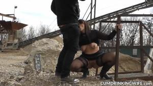 Marion the extreme gangbang slutwife
