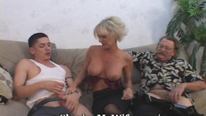 Mature Lady Fucks Student Of Hubby