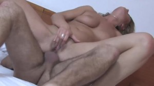 anal sex for a sexy girl with a big dick and cumshot