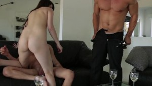 EroticaX Hot MMF Threesome With Aspen Ora