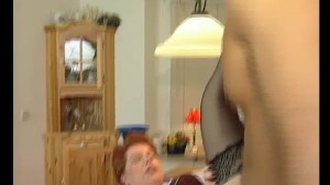Milf in lingerie rides his meat pole - Julia Reaves