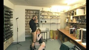 Filming some fucking in the back office - Julia Reaves