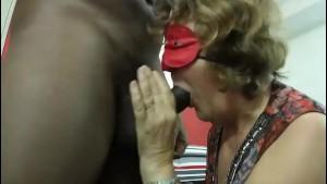Brigitte mature 62 years makes porn