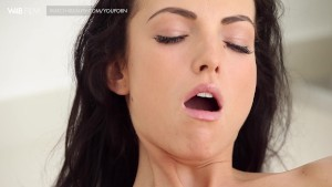 Gorgeous student masturbating