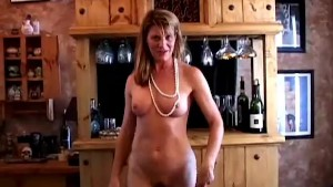 Super sexy old spunker plays with her soaking wet pussy for you