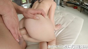 Asstraffic Jessyka Swan is pinned down and fucked in the ass