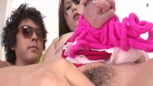 Runa Ayase rough toy porn in sleazy manners