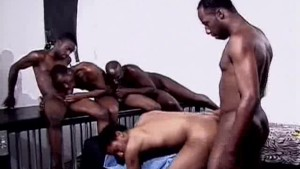Hot Black Men Orgy Porgie