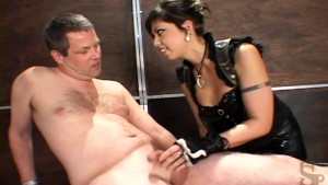 cbt teasing penis and ball torture with clamps