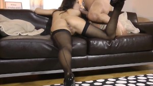 Stockings euro sixtynining oldman before cum